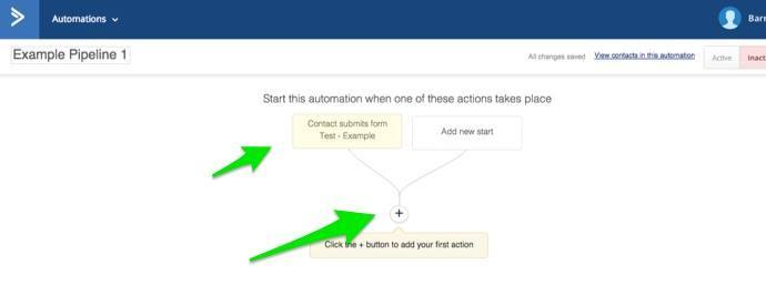 Add a deal with an ActiveCampaign automation