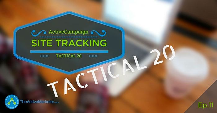 ActiveCampaign Site Tracking