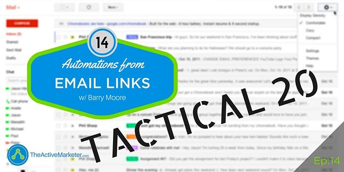 ActiveCampaign Automation Email Links