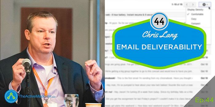 ActiveCampaign Email Deliverability Barry Moore - Chris Lang