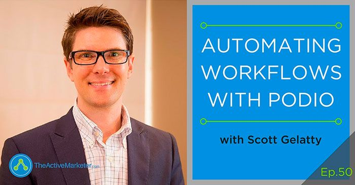 ActiveCampaign automating workflow Podio Barry Moore